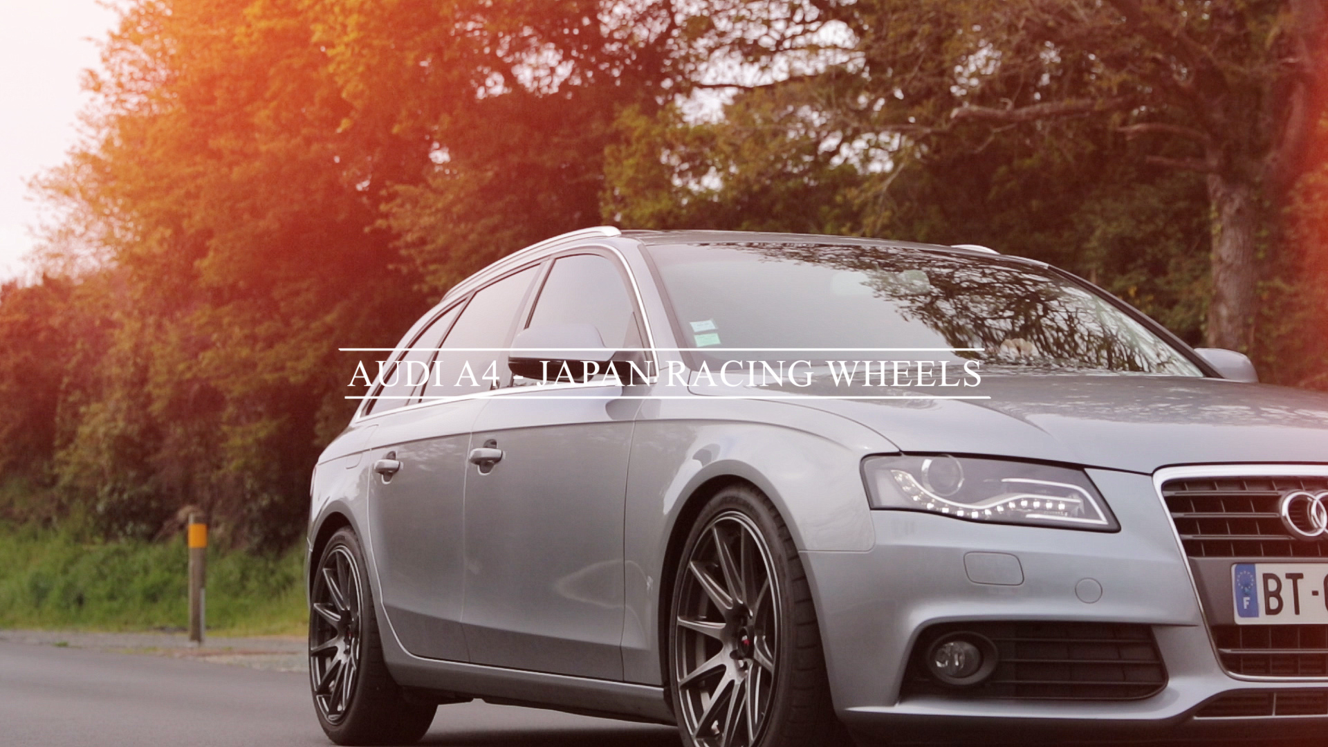 Audi A4 - Japan Racing Wheels